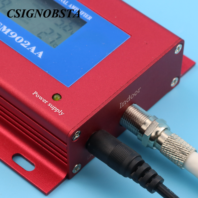 High Quality New Cellphone 2G GSM 900 MHz Signal Repeater Booster Amplifier with Yagi Antenna and Smart LCD Display Wholesale