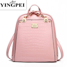 Leather Bagpack Women or Men Laptop Travel Fashion School Bags for Teenagers and Girls Hand Backpack