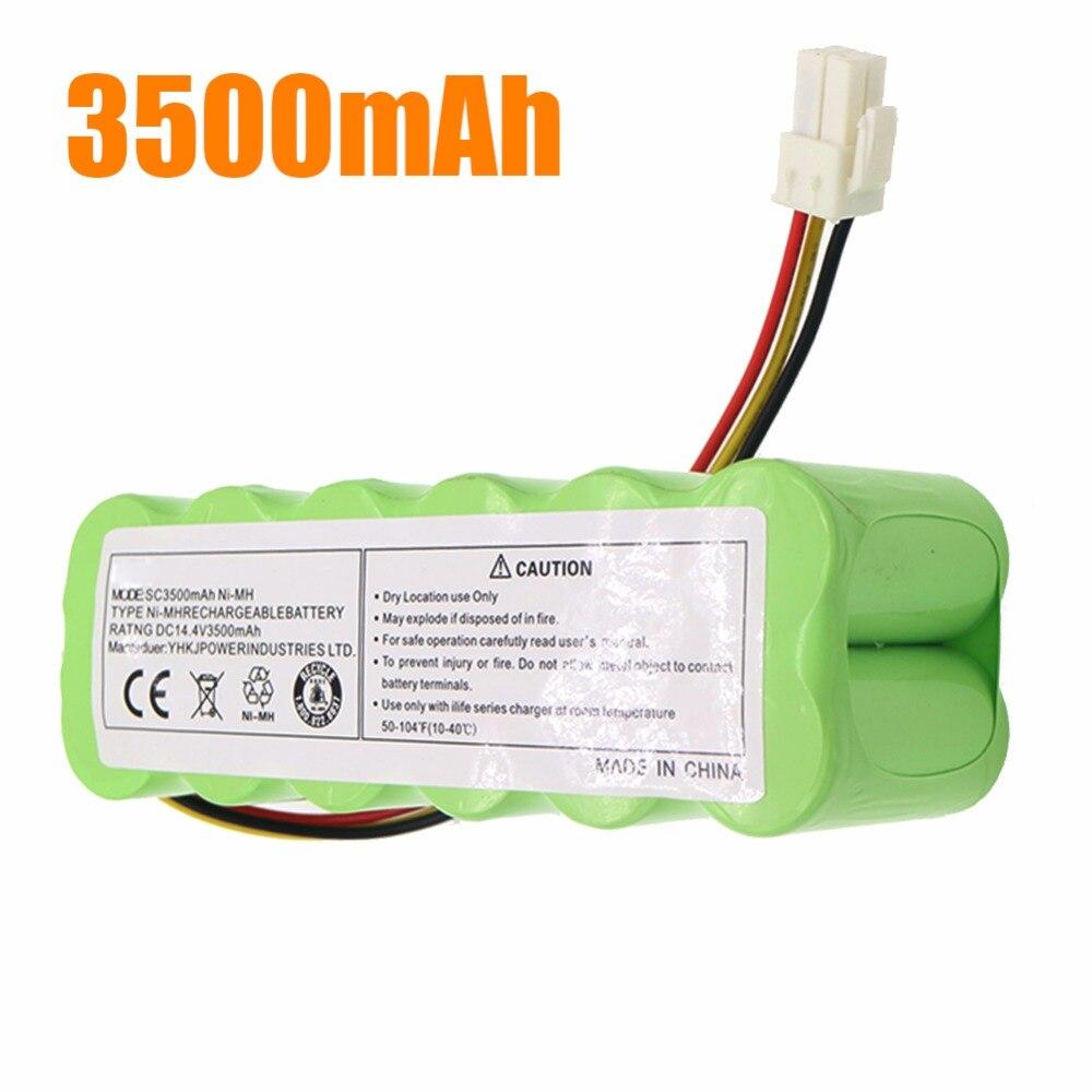 14,4 V 3.5Ah NI-MH Paquete de batería para Samsung NaviBot SR88XX Series aspiradora SR8840 SR8845 SR8855 SR8895 batería de VCA-RBT20 7 Uds NI-MH 14,4 V batería de alta calidad 3500mAh para panda X500 batería para Ecovacs Mirror CR120 aspiradora para dibia X500 X580