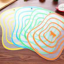 Plastic Cutting Board Non-slip Frosted Breadboard Kitchen Cutting Vegetable Meat Fruit Chopping Board Cooling Accessories cutting board chopping board kitchen cutting board mildew antibacterial cutting board plastic plate household thickening panel