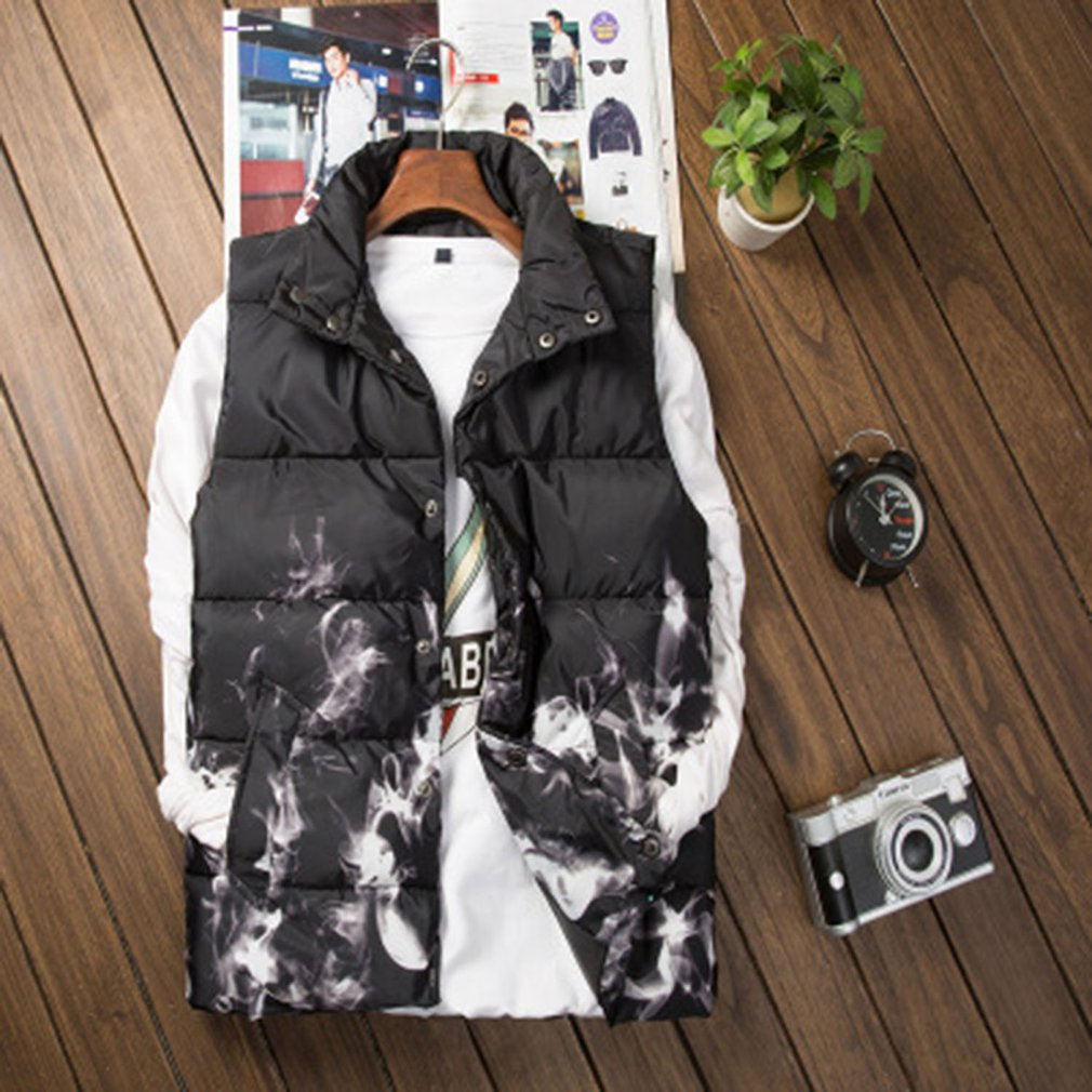 Mens Outwear 2018 Camouflage Waistcoats Casual Vests Pockets Military Jacket New