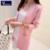 De alta Calidad de Las Mujeres Del Otoño Del Resorte Medio-largo de la Rebeca 2016 Nueva mujer elegante bolsillo de Punto Suéter Del Cabo prendas de Vestir Exteriores Superior
