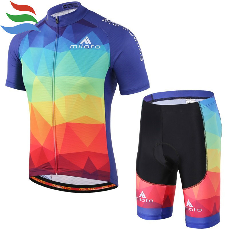 MILOTO cycling jersey set ropa ciclismo hombre verano 2017 quality Short Summer maillot velo equipe pro #331