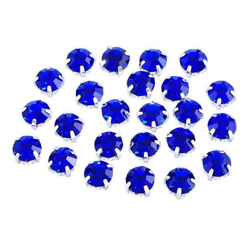 50-200pc Super Bright Flash Crystal Glass Single Claw Sew Rhinestone Jewelry Bottom DIY Earring Necklace Accessories 4x4/5x5mm