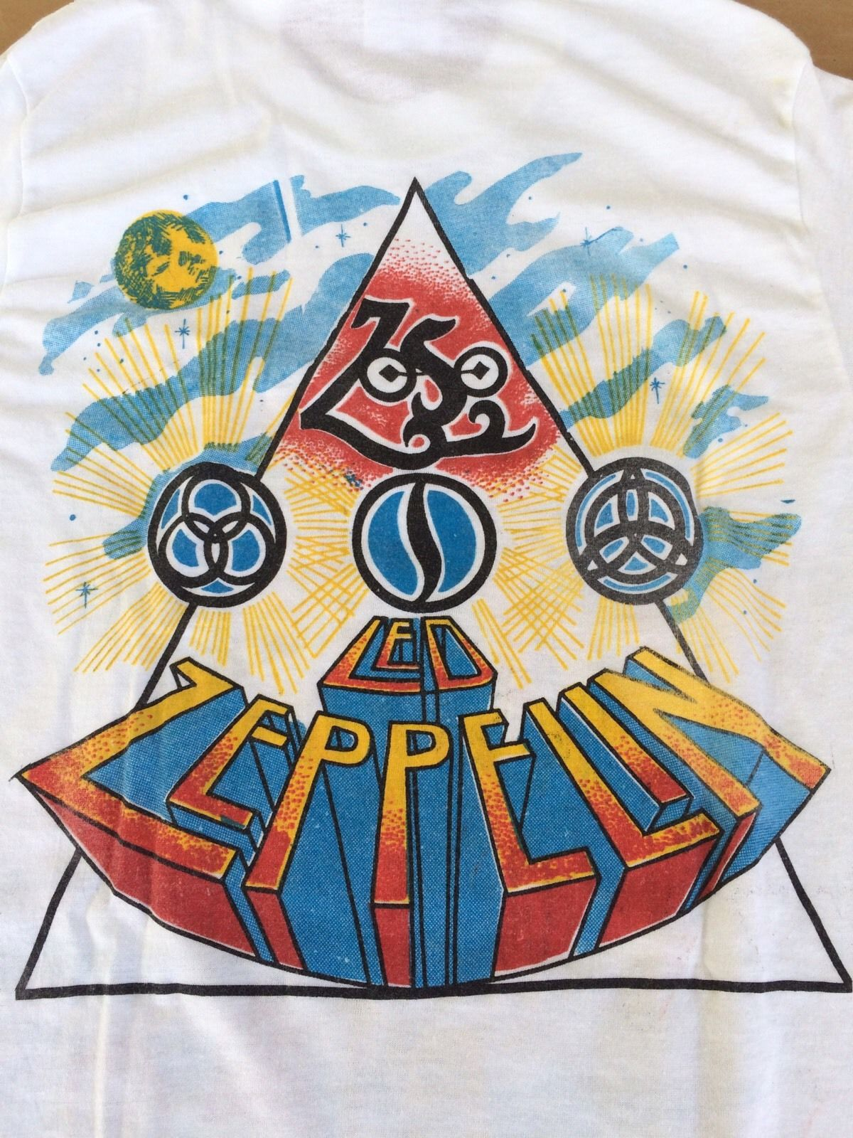 6d046f66115e VINTAGE LED ZEPPELIN T SHIRT JOHN BONHAM EXCELLENT CONDITION RARE 50/50-in T -Shirts from Men's Clothing on Aliexpress.com   Alibaba Group