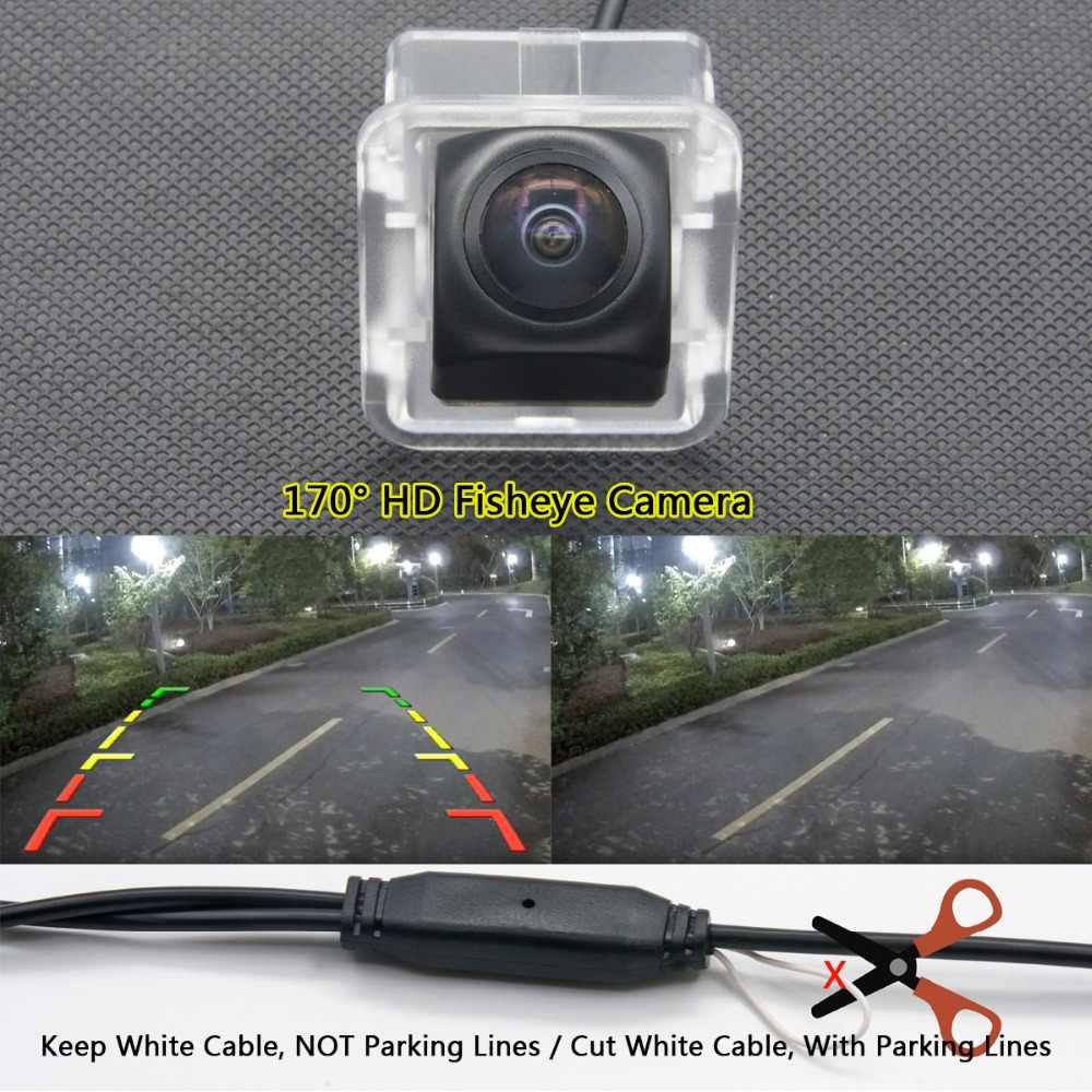 175 degrés 1080 P Fisheye MCCD Starlight caméra de recul de voiture pour Buick GL-8 GL8 GL 8 2012 2013 LED full hd de trou réservé
