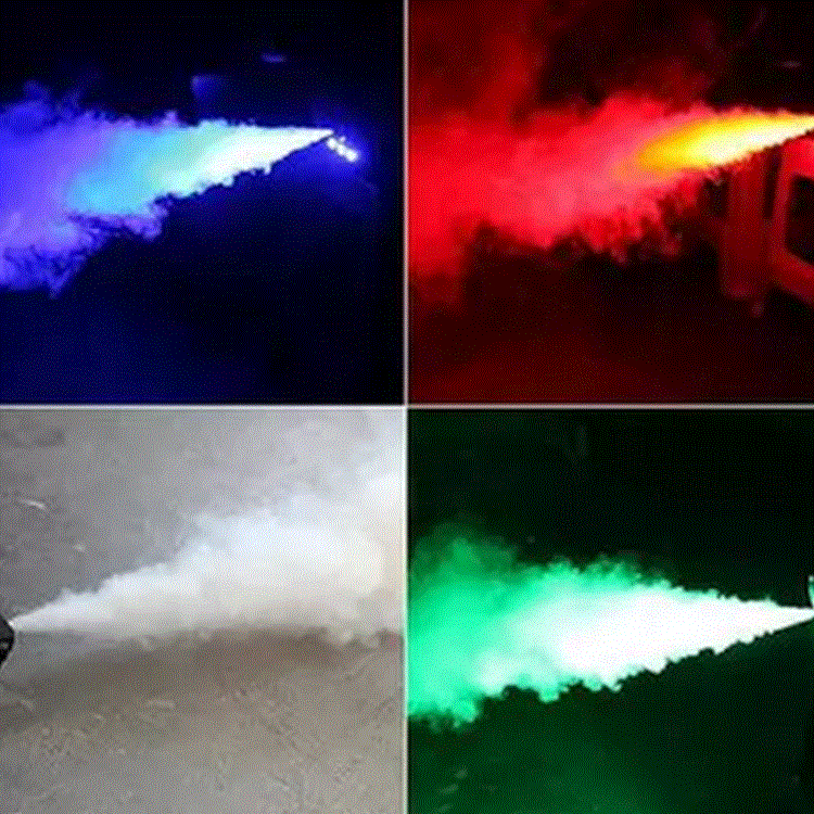 Commercial Lighting New Remote Control Led 500w Smoke Machine Rgb Mixed Color Fog Machine/professional Smoke Ejector/stage Equipment/led Fogger