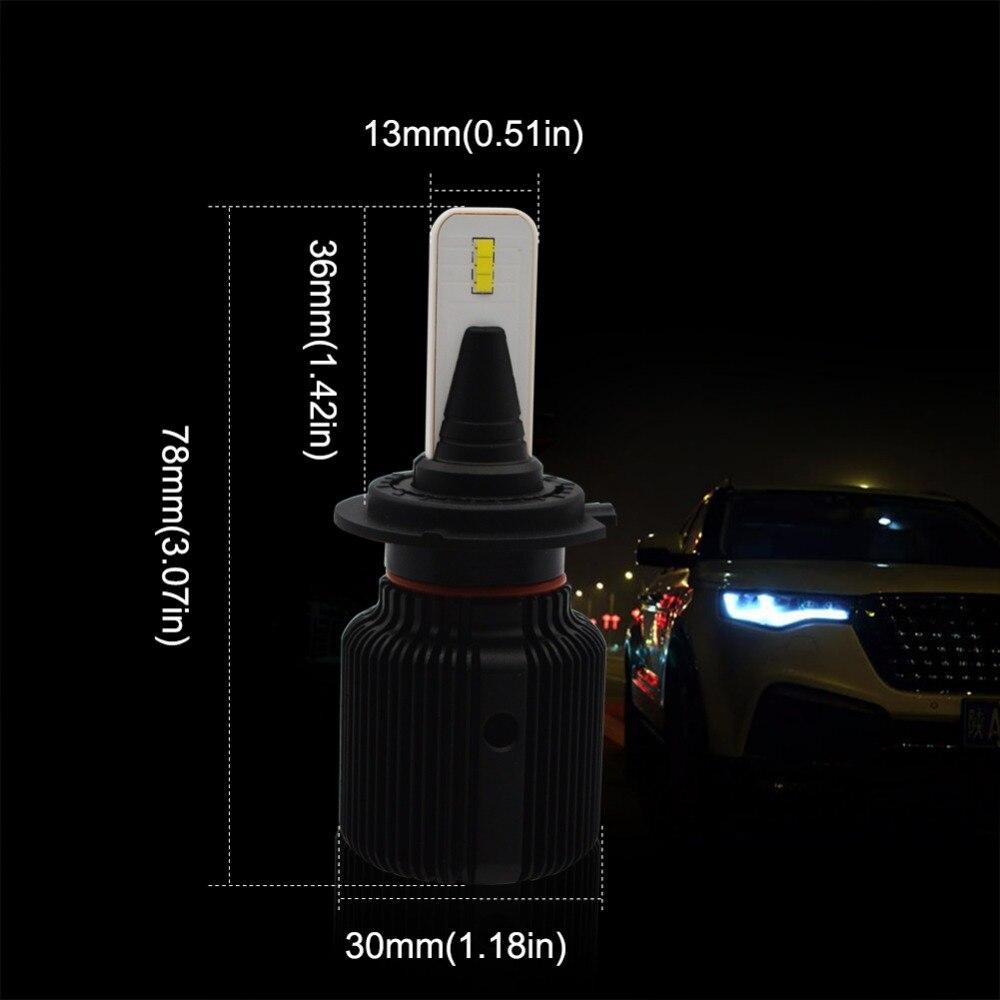 j1 led headlight-J1-H7
