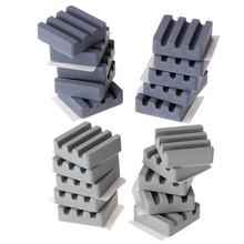 1 Set 10 PCS Ceramic Heat Sinks CPU Cooling dissipador For Raspberry Pi 3 2B Orange Pi New Design(China)