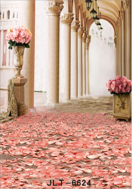 Vinyl Palace Stage Background Wedding Photography