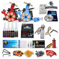 Complete Tattoo Kit 2 Machine Guns 4 Inks Needles Tattoo Power Supply