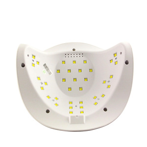 Image 3 - LKE Nail Dryer 54W LED UV Nail Lamp Drying UV Gel Polish with  30s/60s Button Timer Light 36 LEDs Dual Manicure Nail Art Lamp