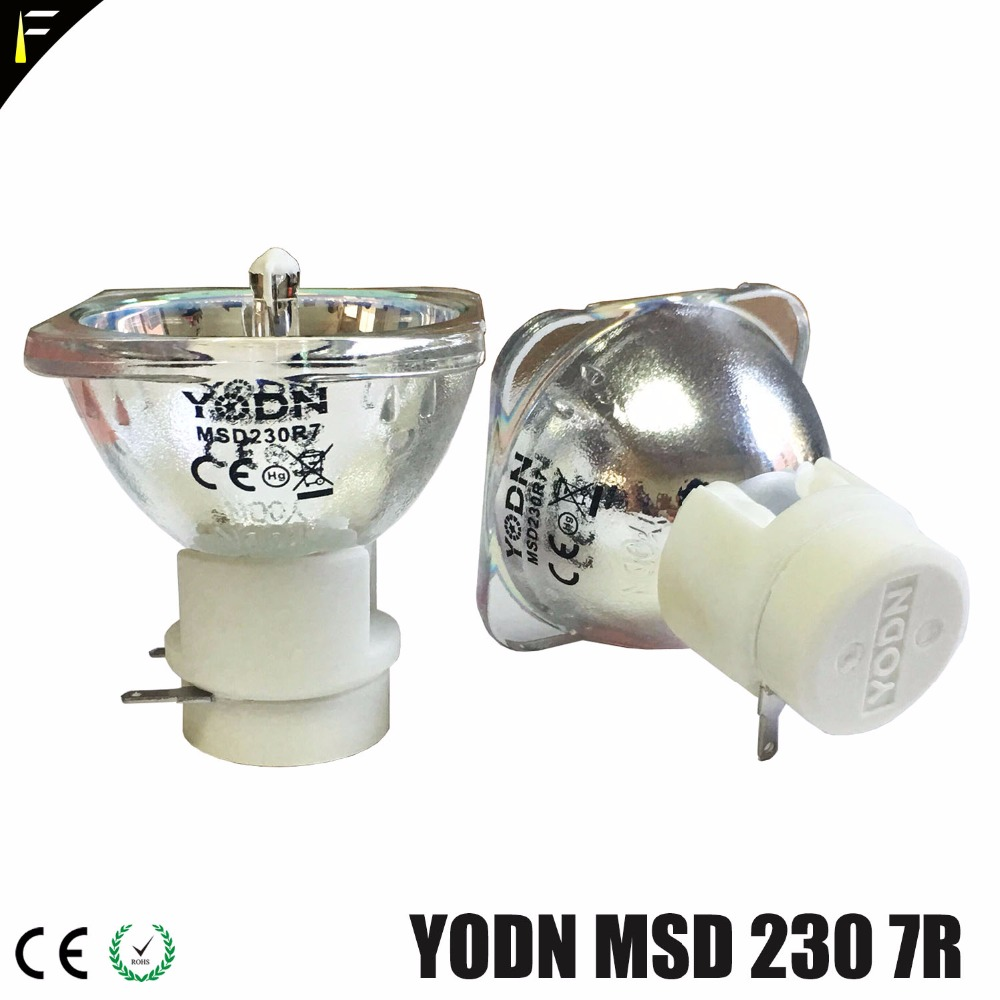все цены на Sample YODN MSD 230w 7R R7 Stage Moving Head Lamp Bulb Replacement MSDR7 230 Sharpy Mercury Lamps