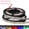 Super Bright SMD 5630 5730 LED strip flexible light DC 12V Waterproof Fita 60leds/m DC12V Fita Diode tape Stripe lamp 5 colors