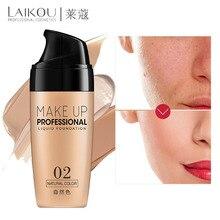 Профессиональный Полный охват Жидкая Основа основа для лица макияж натуральный цвет отбеливающий консилер стойкий праймер макияж