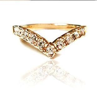 30pcs/lot Hot Sale 2013 Fashionable Women Jewelry Crystal Ring 1 Dollar Items Cheap Cute Rings Love U For