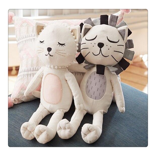 Kawaii Lion pillow baby boy girl rooms kids beding pillows car cushions infant travel pillow almofada baby oreiller bebe gift