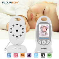 Digital Wireless 2 4 GHz Baby Monitor LCD Video Security Camera Temperature Display 2 Way Talk