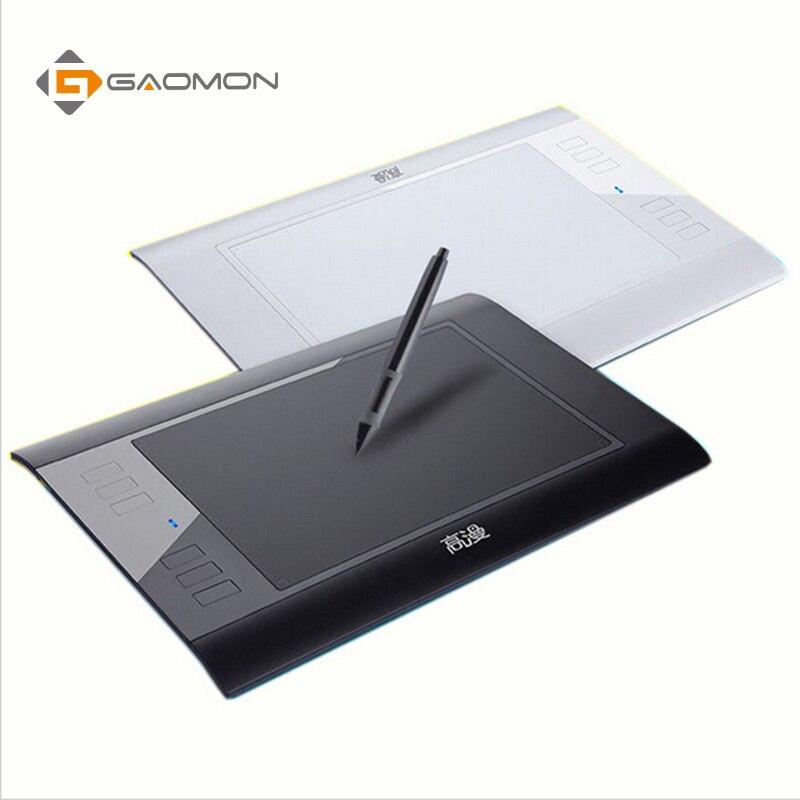 D'origine GAOMON 6 Touches Express 860 T USB Numérique DrawingTablets pour la Retouche Photo Dessin Comique avec Rechargeable Stylo - 4