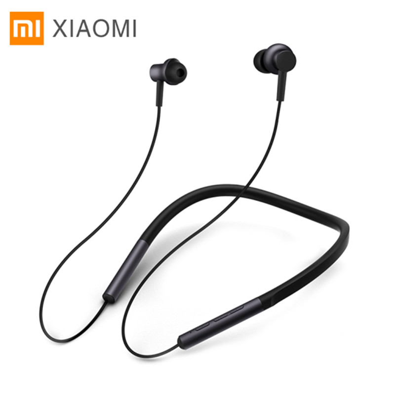 Xiaomi Bluetooth Neckband Earphones Necklace Sports Wireless Earbuds Bass Apt-X Hybrid Dual Cell With Mic For Android IOS wireless sports bluetooth earphone waterproof sports bass bluetooth earphones with mic for smart phone fone de ouvido earbuds