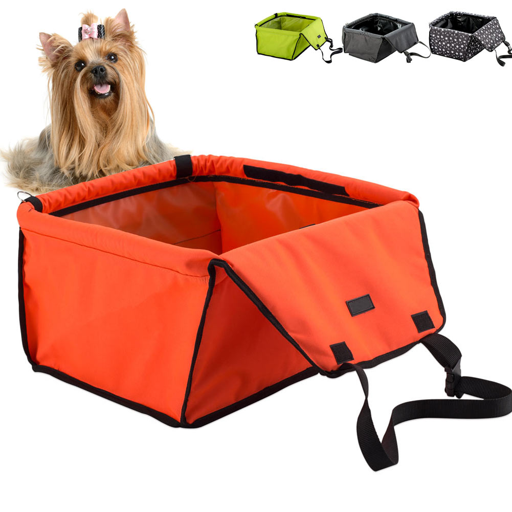Newly Waterproof Dog Pet Bag Car Carrier Booster Seat Cover Carrying Bags for Outdoor Travel 8