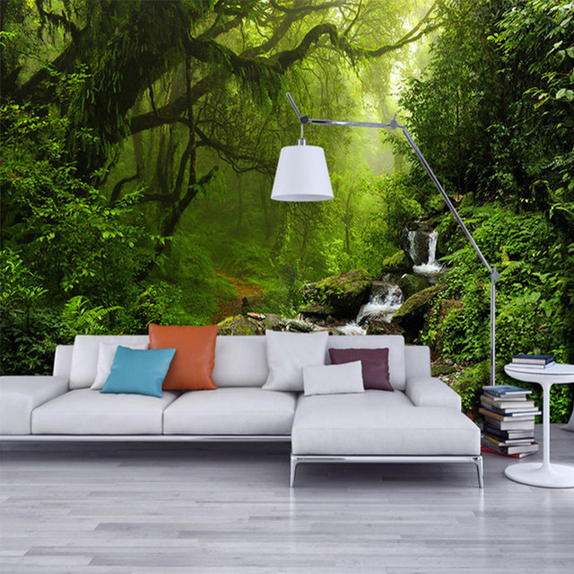 Online Shop Photo Wallpaper 3D Stereo Virgin Forest Nature ...