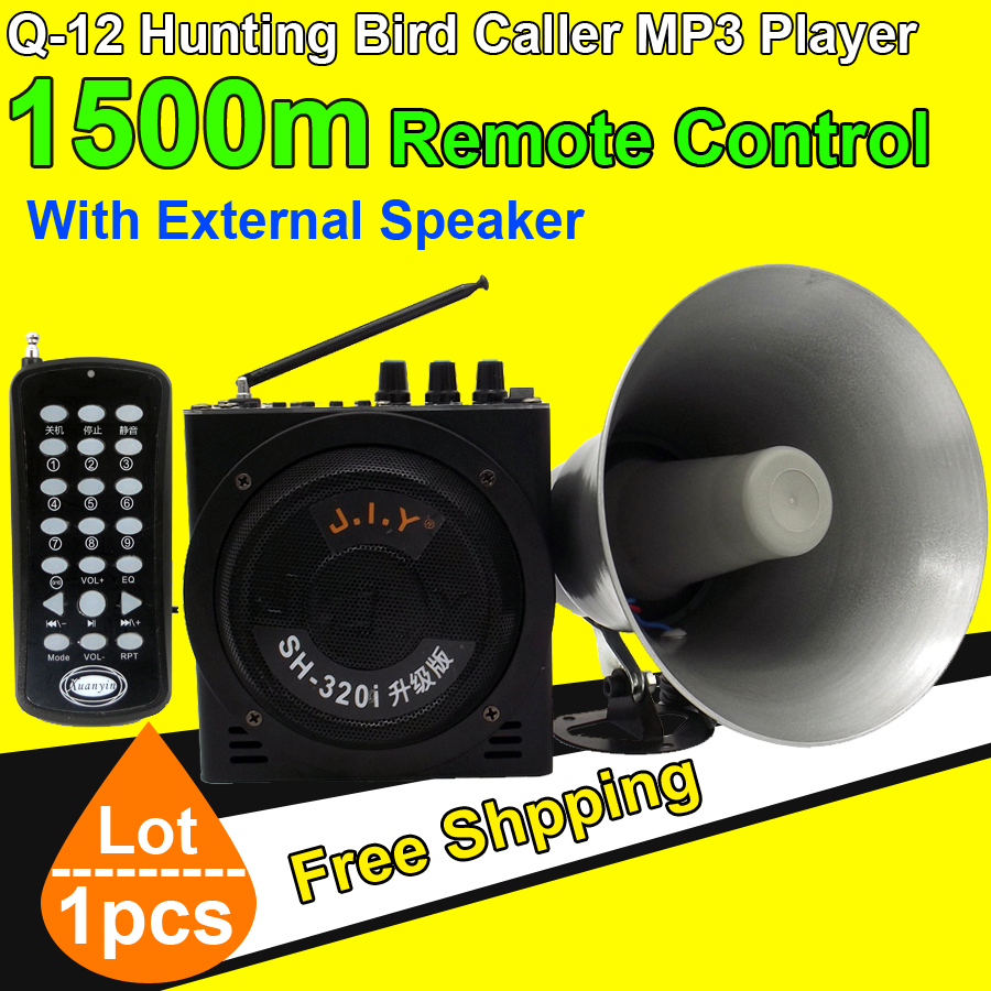 Free Shipping High Power Amplifier Portable Hunting Bird Decoy font b MP3 b font font b