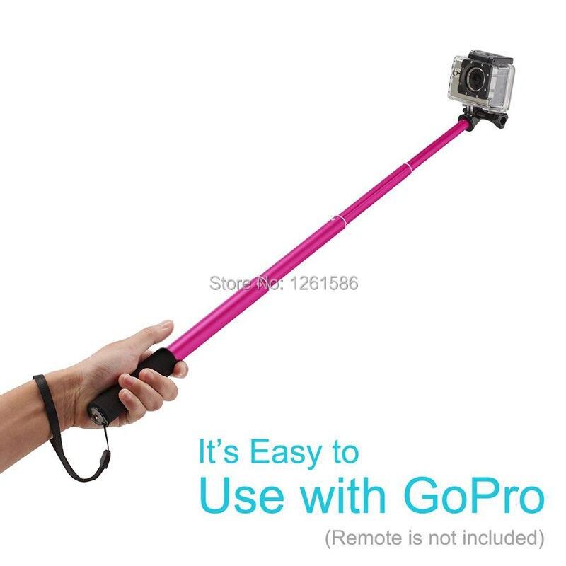 telefone bluetooth remoto câmera obturador selfie vara