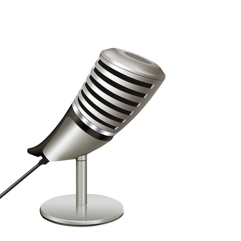 Microphone Professional 3.5mm Microphone Speaker Condenser Mic Metal Microphone For  Video Chat Podcasting Gaming Phone joyo i mic portable mini condenser microphone