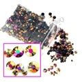3D Nail Art Tips AB Milk Jelly Color Rhinestone Mix Size Flat back Beads not hotfix for DIY Nails Phone Case Rose Gold AB J151