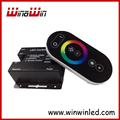 LED RGB controller with Touch remote RF Wireless  18MODES control distance DC12-24V