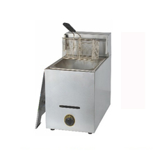 1PC Single cylinder Gas fryer commercial fryers donut machine french fries machine fried chicken fryer fries