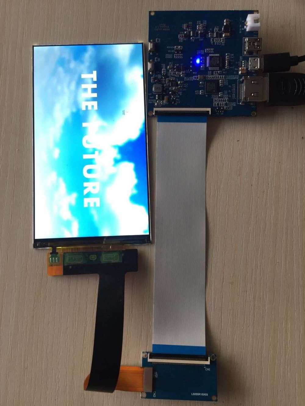 5.5 inch 2560*1440 2K LS055R1SX03 LCD Module Screen For VR