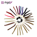 20pcs 27 colors 100% Asian Human Hair Color Ring/Color Chart Swatch Rings for Remy Hair Extensions/color design