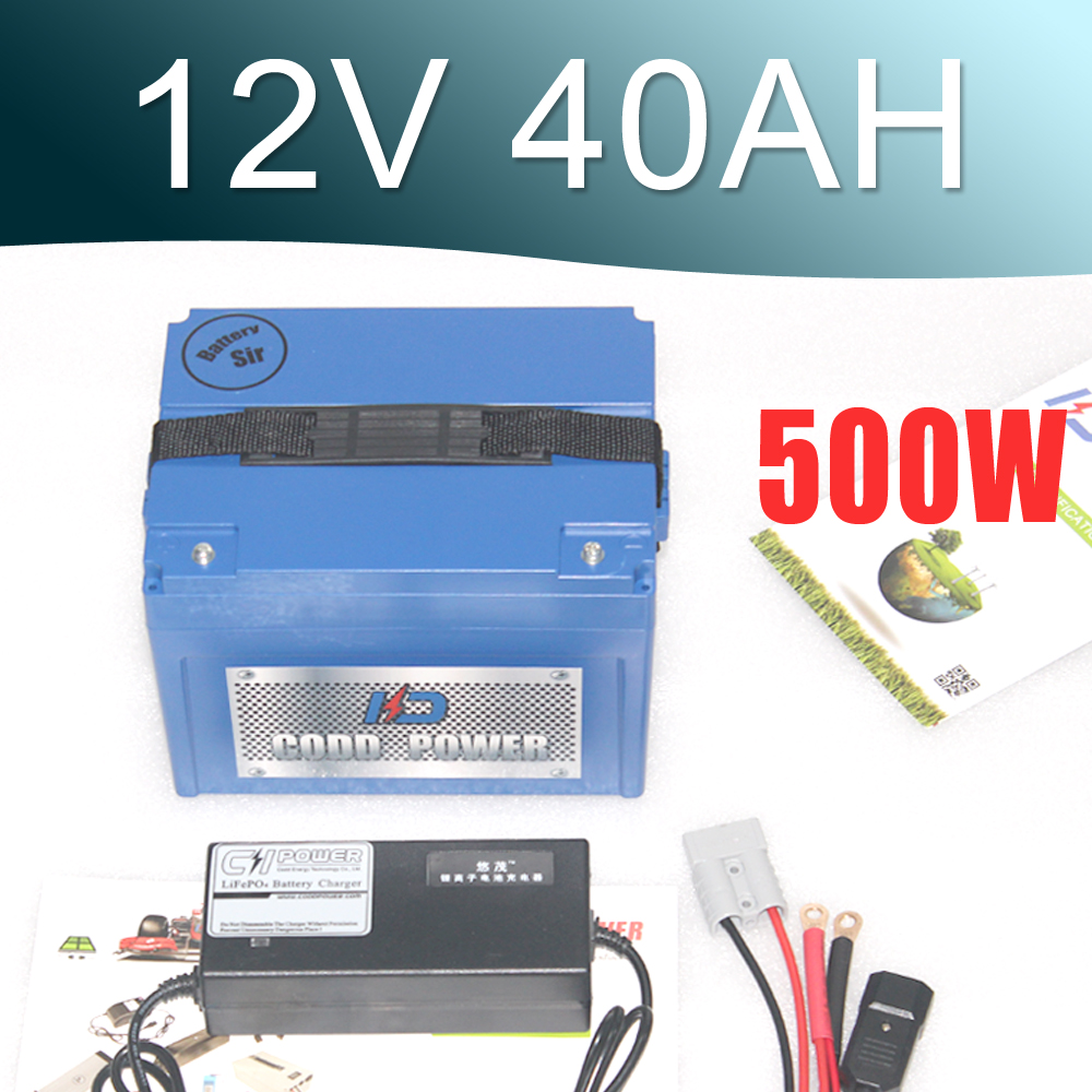 12v 40000 mAh capacity lithium ion solar battery pack 40AH New Protection Large capacity free shipping 48v 15ah battery pack lithium ion motor bike electric 48v scooters with 30a bms 2a charger