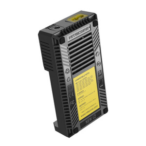 Image 5 - Nitecore original novo i2 intelli carregador de bateria universal rápido para aa aaa li ion 26650 18650 14500 baterias de carregamento