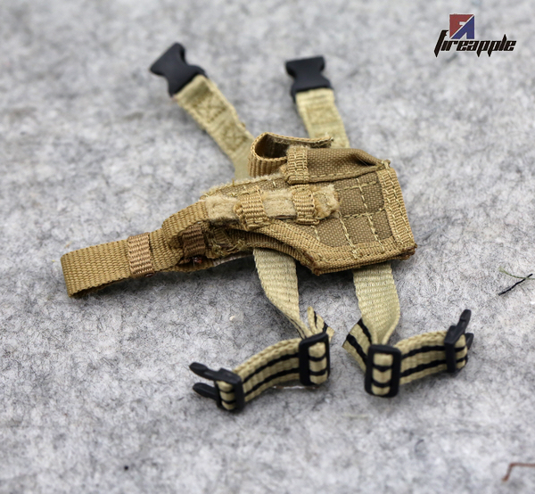 1 6 soldiers ph playhouse pmc legs hanging pistol silencer fast pull sets of models sand