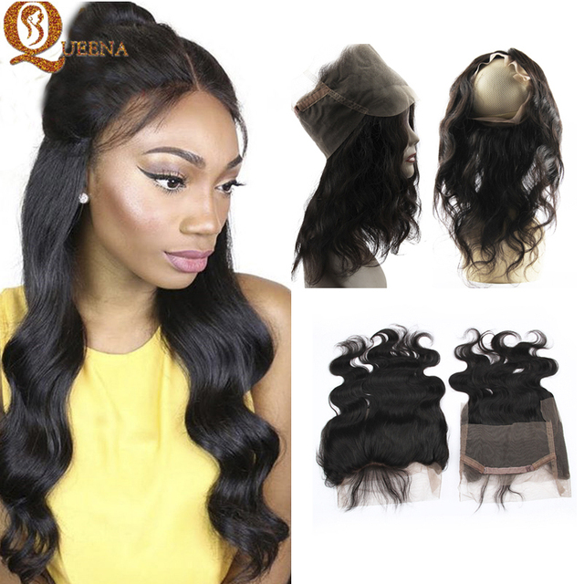 8a 360 Lace Frontal With Bundle Indian Virgin Hair With Closure 360