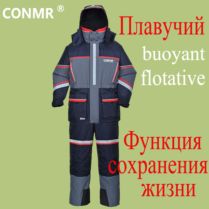 CONMR High Quality Fishing Wear font b Men b font Outdoor Weatherproof Windshield Thermal Breathable Clothes