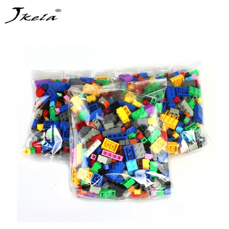 [Jkela] Legoingly Duplo 5000Pcs Building Blocks City Creative Bricks Educational Building Block Toys For Children Gift