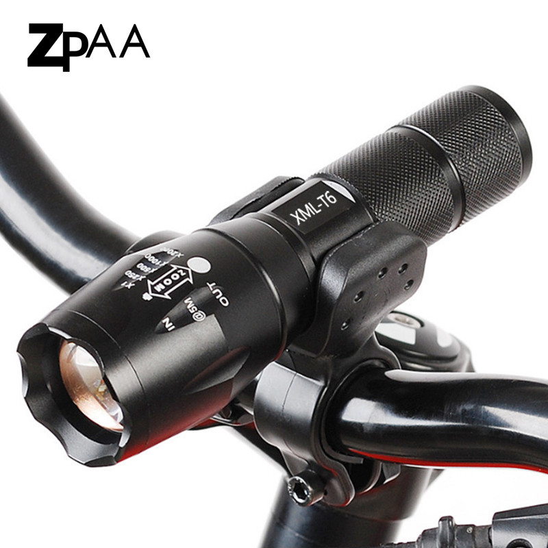Hot Led Bike Flashlight Bicycle Light 5000 LM 5 Mode Bike T6/L2 Bike Light Lights Lamp Front Torch Waterproof Lamp + Bike Holder powerful led flashlight bicycle light 2000 lumens 3 mode cree q5 led bike light front torch waterproof xp 6 torch holder zk93