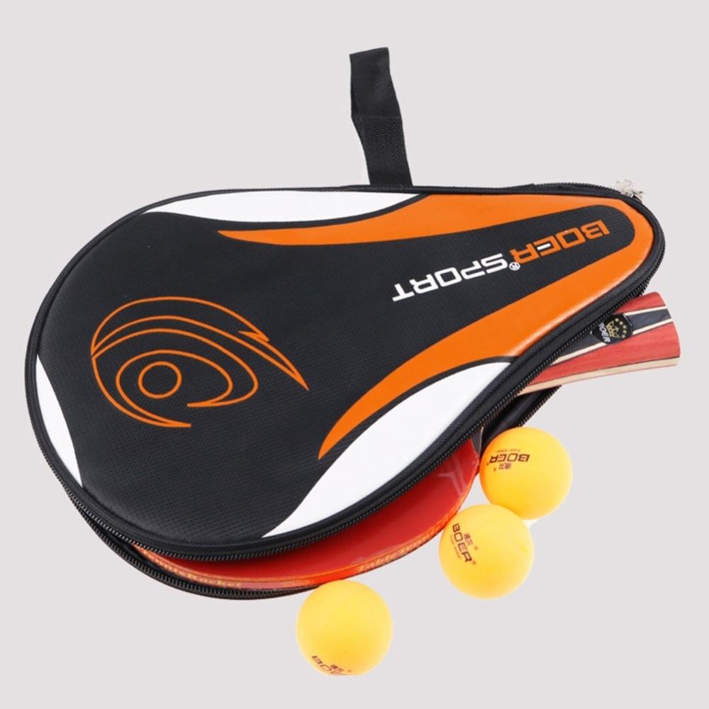 Table Tennis Rackets Bag For Training Professional Ping Pong Case Set Tenis De Mesa Portable Racket Bag Waterproof Racket Hoist