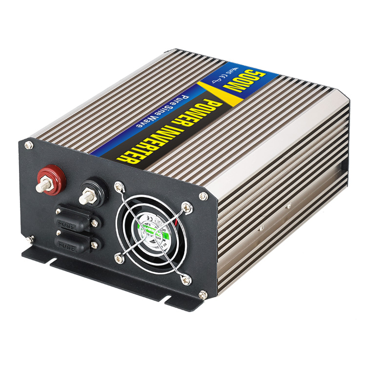 500W Car Power Inverter Converter DC 48V to AC 220V Pure Sine Wave Peak 1000W Solar Power Off Grid Inverter