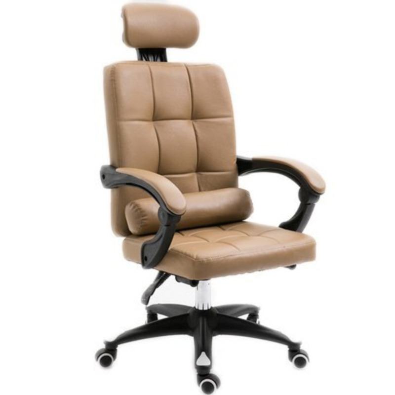 Luxury Quality Silla Gamer Boss Chair Wheel Ergonomics Can Lie Synthetic Leather With Footrest Pillow Office Furniture Poltrona
