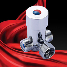 Cold Hot Water Mixer Valve For Touchless Faucet Thermostatic Temperature Control