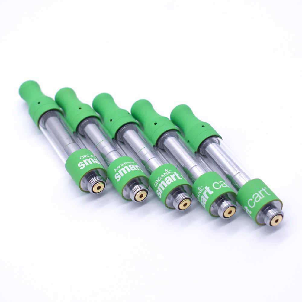 Newest SmartCart CBD Vape Cartridges 1 0ml Smart Cart Thick Oil Atomizer  Tank Cartridge for 510 Thread Battery Mod Vaporizer Kit