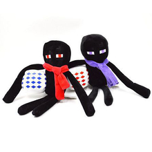 1pcs New Arrival 26cm Minecraft Enderman Plush Toys Even Cooly Creeper JJ Plush Doll Soft Stuffed Toys Brinquedos for Kids Gifts