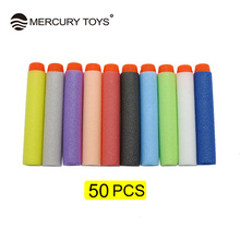 50pcs pieces soft Bullets Plastic Gun 2 in 1 Air font b Toy b font Gun