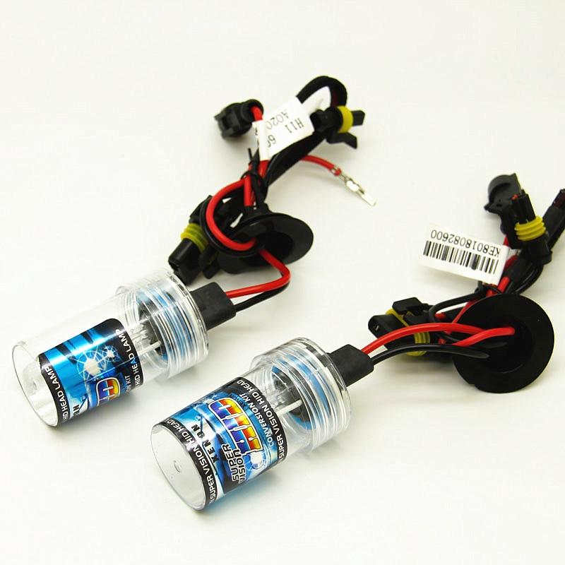 AFAECAR 2pcs 12V 35W Xenon H7 HID H1 H3 H11 9005 9006 Hb3 Hb4  H7 Bulb Auto D2S Light