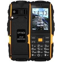 DTNO. Je A9 Quadri-Bande Débloqué Téléphone 2.4 pouce IP67 Étanche À La Poussière Antichoc FM lampe de Poche Caméra 4800 mAh Batterie téléphones portables